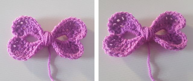 FREE Bow Heart pattern (Crochet) - intheloopcrafts.blogspot.co.uk