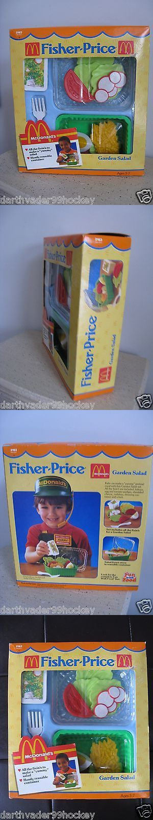Other Fisher-Price 1963-Now 374: Fisher Price 1988 Fun Food ? 2163 Mcdonalds Garden Salad Set ? New Sealed Rare! -> BUY IT NOW ONLY: $89.5 on eBay!