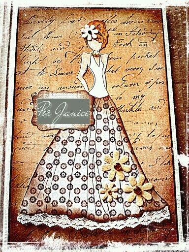 Prima  can do this with cricut carts.  like the flowers on the skirt