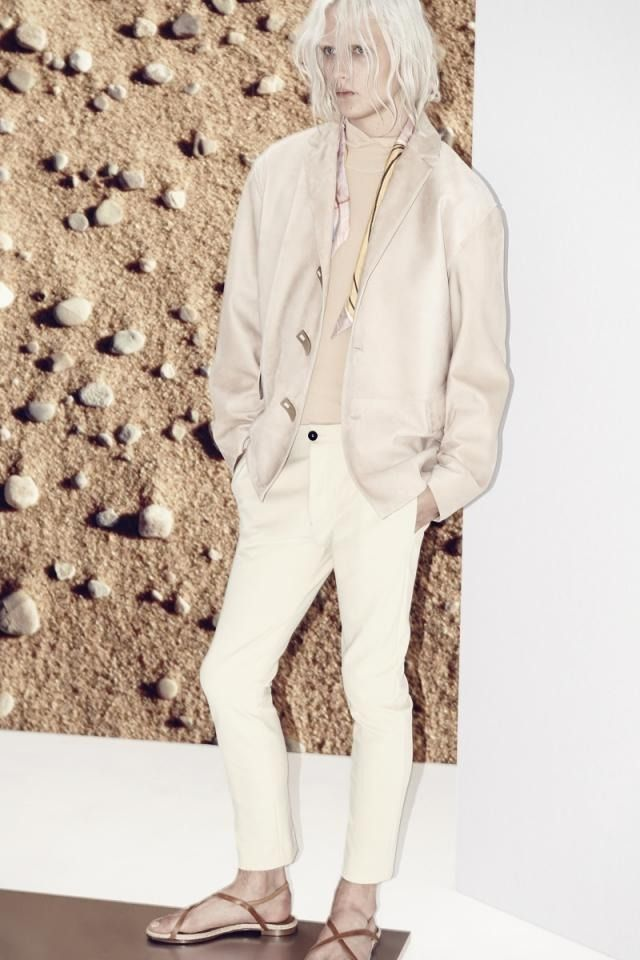 Paris | Mode Masculine PE 2014 | ACNE    --   The collection pays homage to the Swedish artist Hilma af Klint.