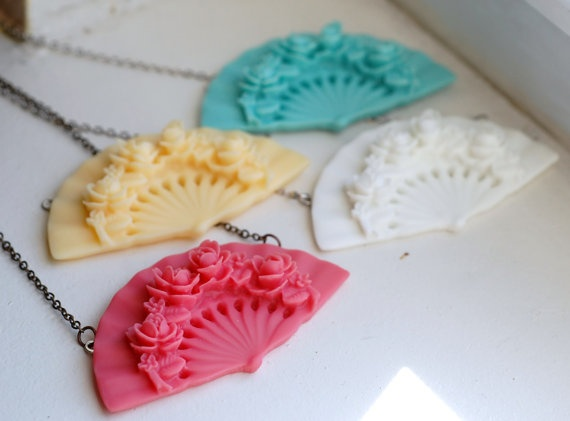 Fan Necklace: Styles Pinboard, Fanfare Necklaces, Jewellery Inspiration, Fans Necklaces