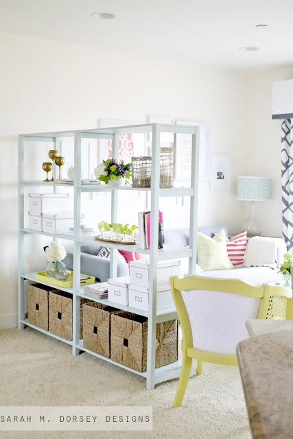 sarah m. dorsey designs: How to Build Custom Shelving for Only $35!