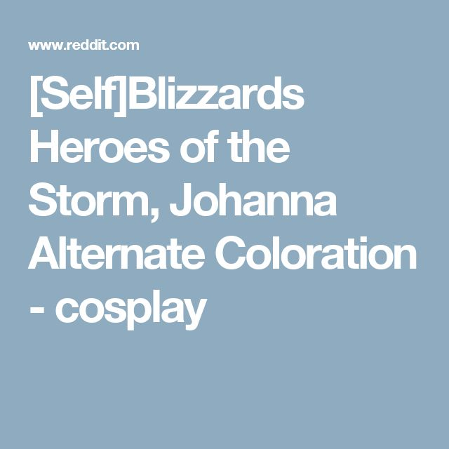 [Self]Blizzards Heroes of the Storm, Johanna Alternate Coloration - cosplay
