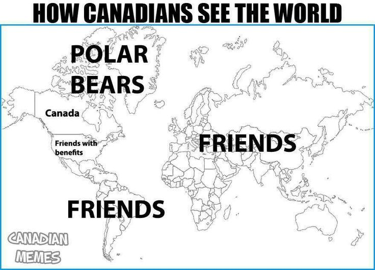 Friends everywhere! Very #Canadian :)