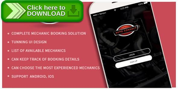[ThemeForest]Free nulled download Book Your Mobile Auto Mechanics or Technicians - Auto Connect App from http://zippyfile.download/f.php?id=48992 Tags: ecommerce, appoint mechanic app, auto connect app, automotive repair apps, book your mechanic app, call mechanic online app, car service app, find a mechanic app, mechanics online app, mobile auto mechanic, mobile car repair service, mobile mechanic app, online automobile mechanics, repair mechanics app, repair your vehicle app