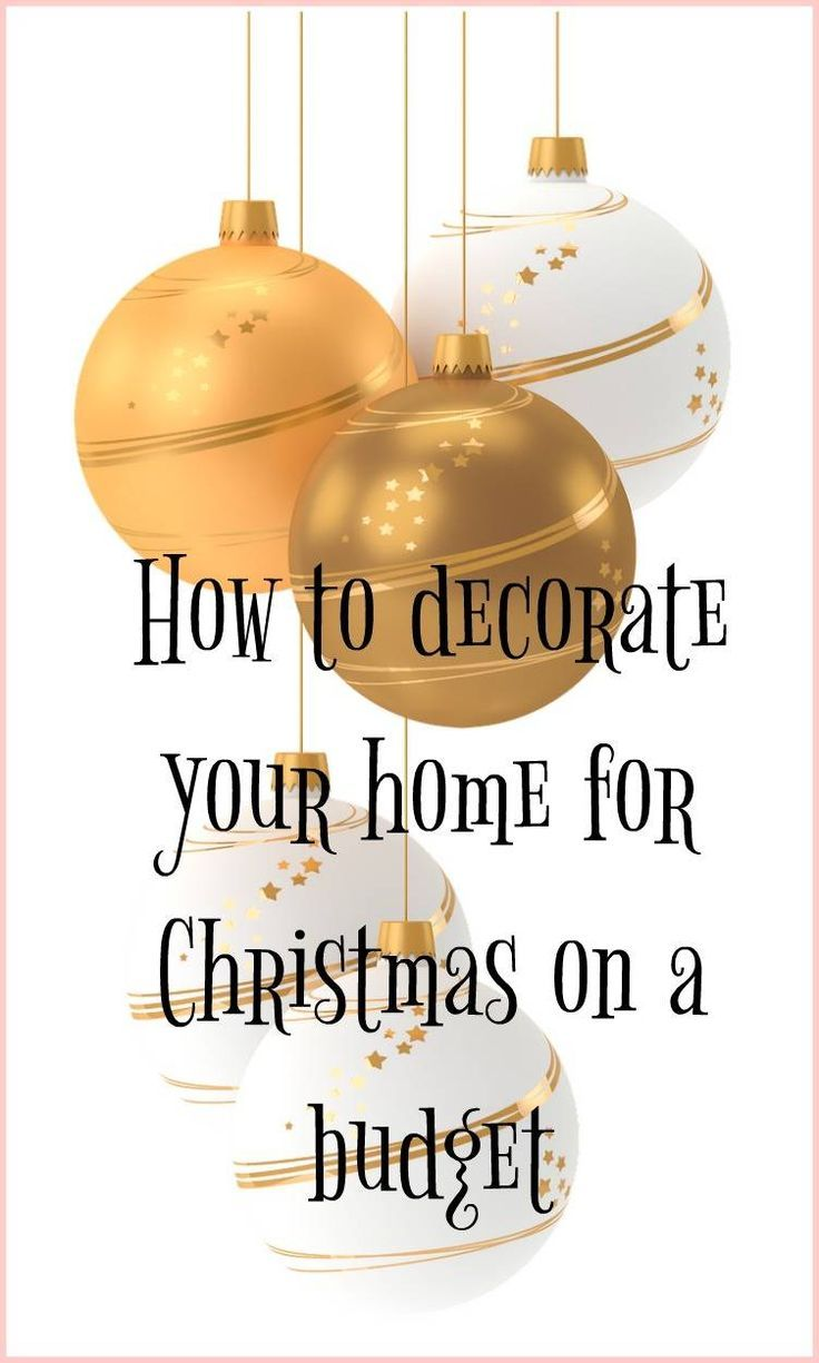 Festive season on a budget - how to make your home frugally festive and decorate your home for Christmas on a budget. Great advice for a thrifty Christmas