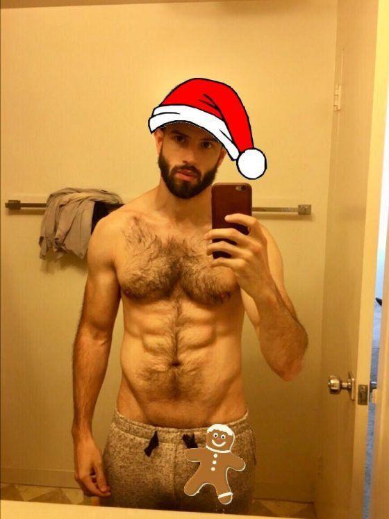 Gay Santa pics - jocks, wolves, otters and elves! http://www.gaypopbuzz.com/gay-santa-want-slide-chimney/ #gaysanta