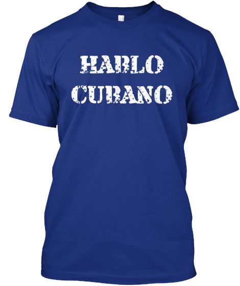 HABLO CUBANO ABC | Teespring