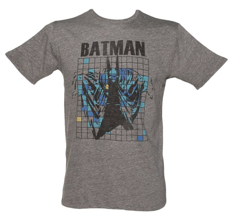 Junk Food Mens Grey Grid Batman T-Shirt from Junk Food We are loving this super cool, retro Batman grid design from Junk Food! Printed on a luxurious triblend, marl jersey fabric, this is a great collectors piece! http://www.comparestoreprices.co.uk//junk-food-mens-grey-grid-batman-t-shirt-from-junk-food.asp