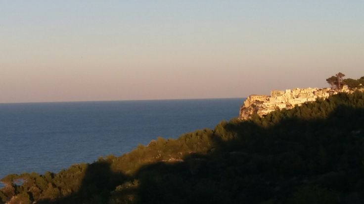 Aujourd hui on a visiter le nord des pouilles, en Italie. Demain repos, et lundi, talon de la botte 😋. Super vacances!