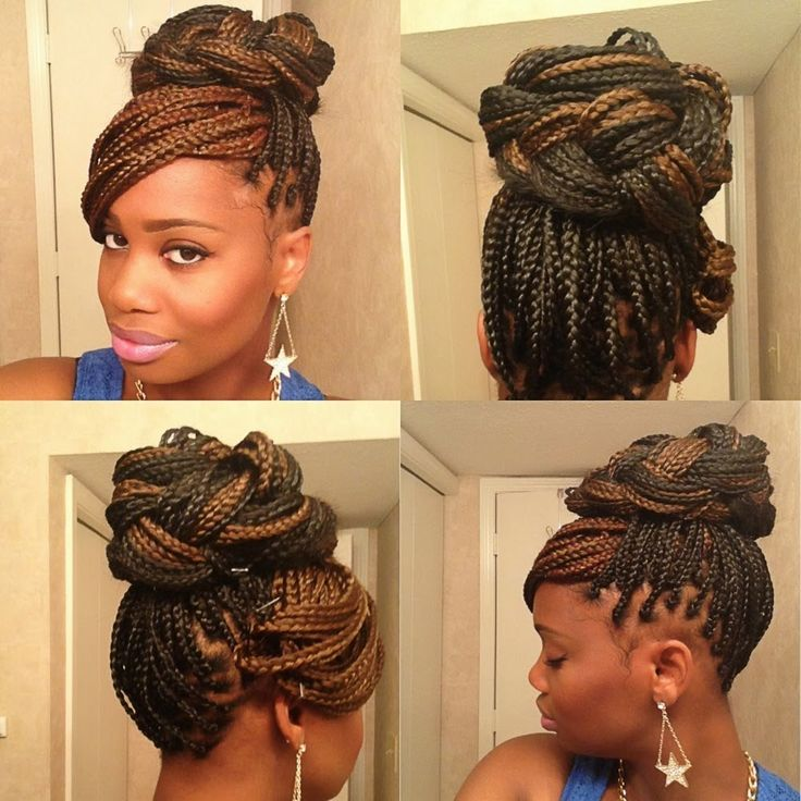 Amazing 1000 Images About Updo Hairstyles Using Braiding Hair On Short Hairstyles For Black Women Fulllsitofus