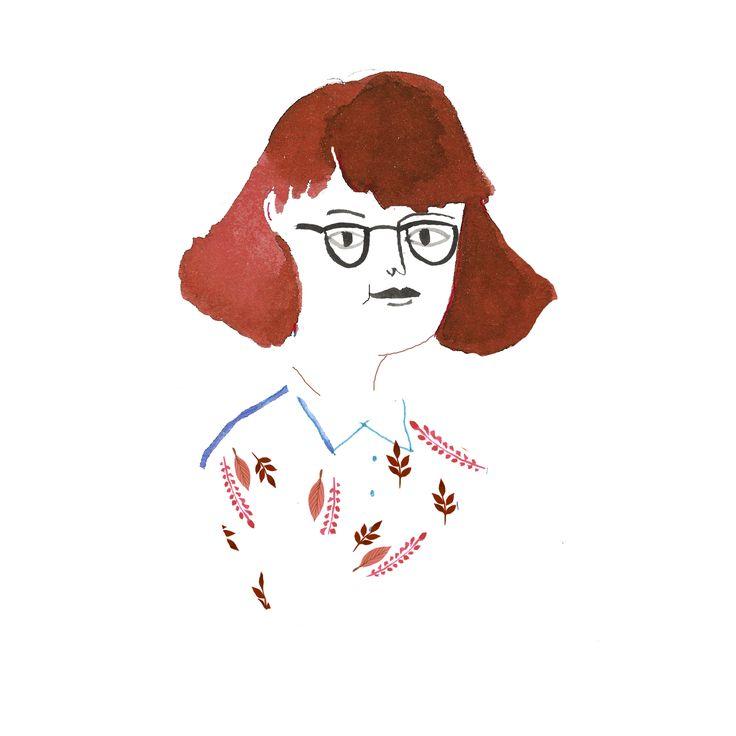 autoportret Paulina Derecka