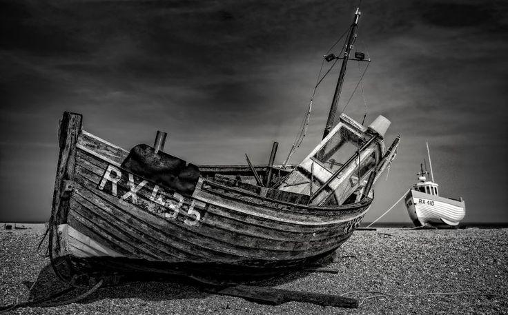 """""""Vergessen"""" heißt dieses Bild: Ein Schiffswrack an der Küste von Südengland…"""