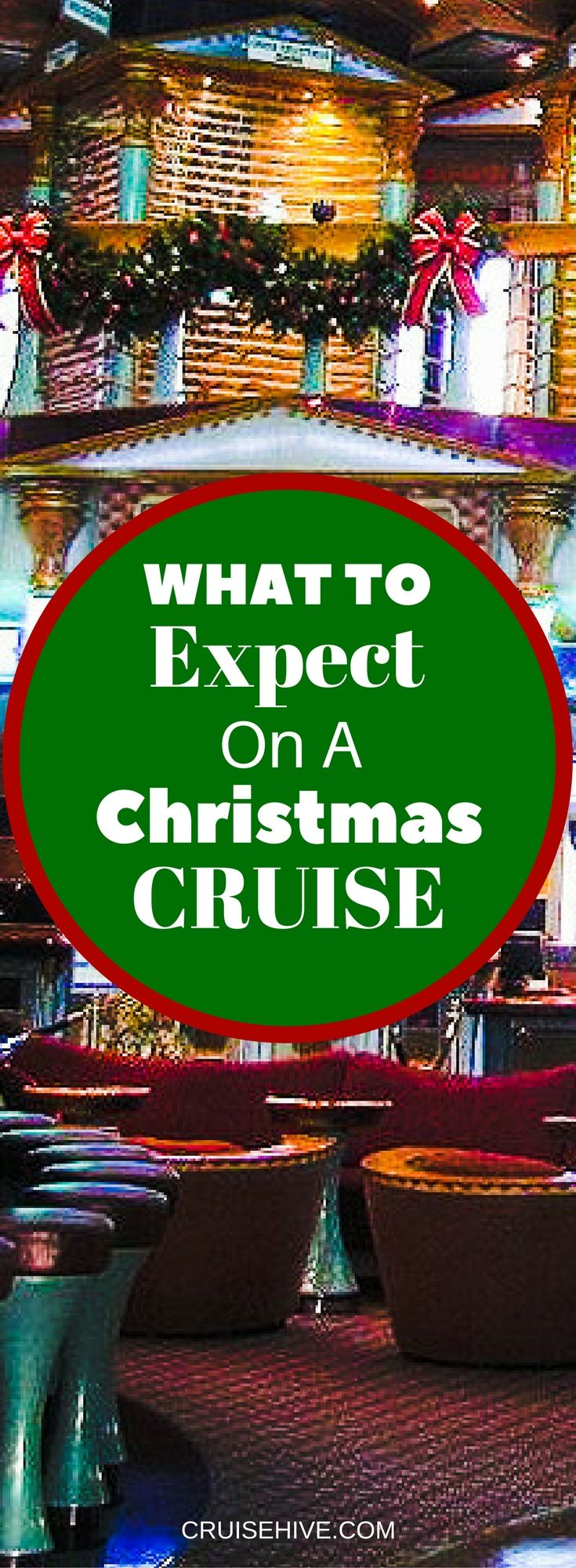 You might be thinking about getting away for Christmas for the first time. Here are tips and useful information on what to expect on a Christmas cruise vacation.