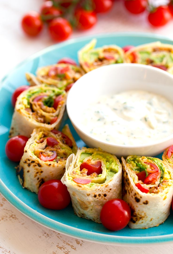 "Vegan ""BLT"" Roll-Ups with Easy Vegan Ranch Dip + a $500 VISA Gift Card Giveaway!"