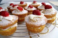Máslové dortíky královny Viktorie