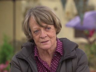 """Muriel Donnelly (Maggie Smith): """"You have no idea now what you will become, don't try and control it. Let go. That's when the fun starts. Because as I once heard someone say 'There's no present like the time'."""" -- from The Second Best Exotic Marigold Hotel (2015) directed by John Madden"""
