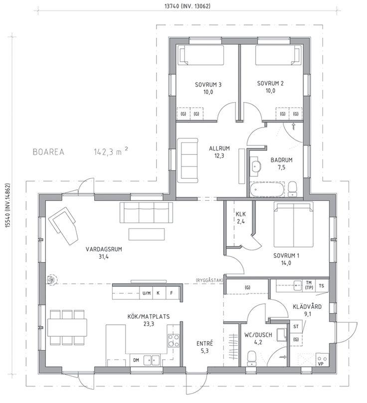 A-hus Villa Torekov  väldigt lik Björkholmen