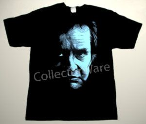 JOHNNY CASH drawing 14 CUSTOM ART UNIQUE T-SHIRT   Each T-shirt is individually hand-painted, a true and unique work of art indeed!  To order this, or design your own custom T-shirt, please contact us at info@collectorware.com, or visit  http://www.collectorware.com/tees-johnny_cash.htm
