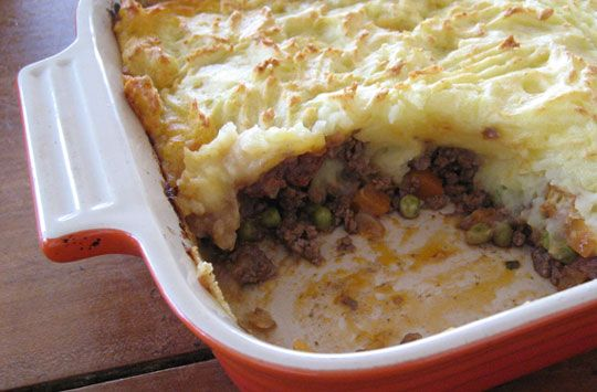 Turkey shepard's pie. Using Turkey meat instead of Ground is much healthier solution. (Also, flavoer with Sloppy joe mix before baking to make it sweeter) So GOOD!