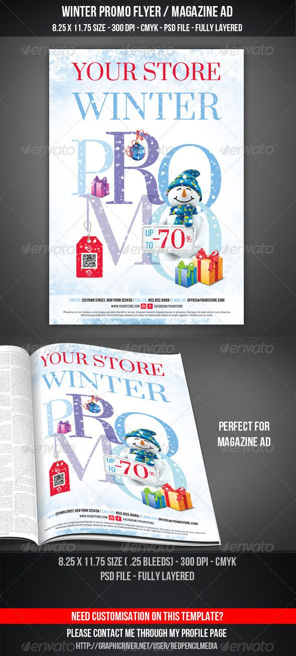 82 Best Flyer Templates Psd With Qr Code Images On Pinterest Print