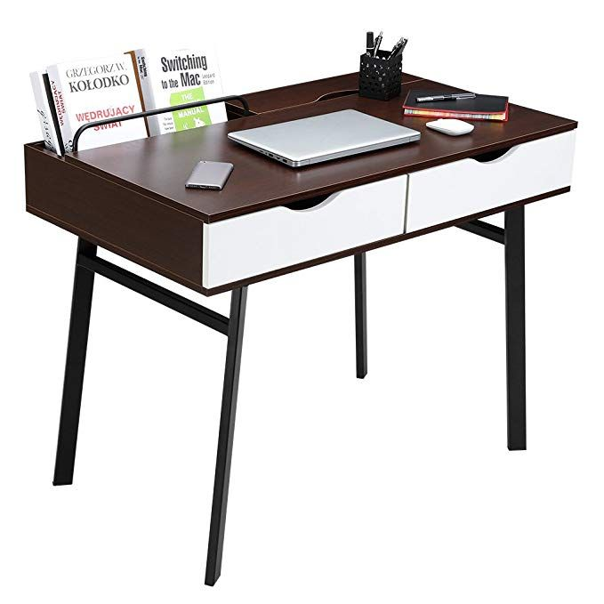 Student Study Desk For Small Spaces And Dorm Rooms College Study Supplies School Suppl Large Computer Desk Home Office Computer Desk Desks For Small Spaces