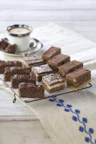 Chocolate mint slice Recipe | eCook