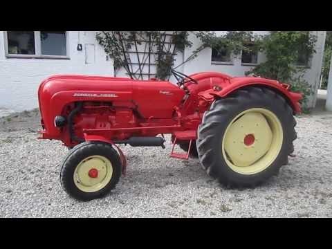 porsche tractor !!