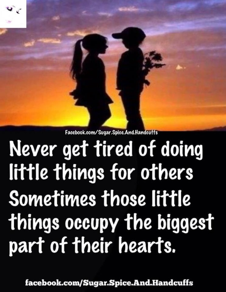 I so love doing little things for you....just out of the ...