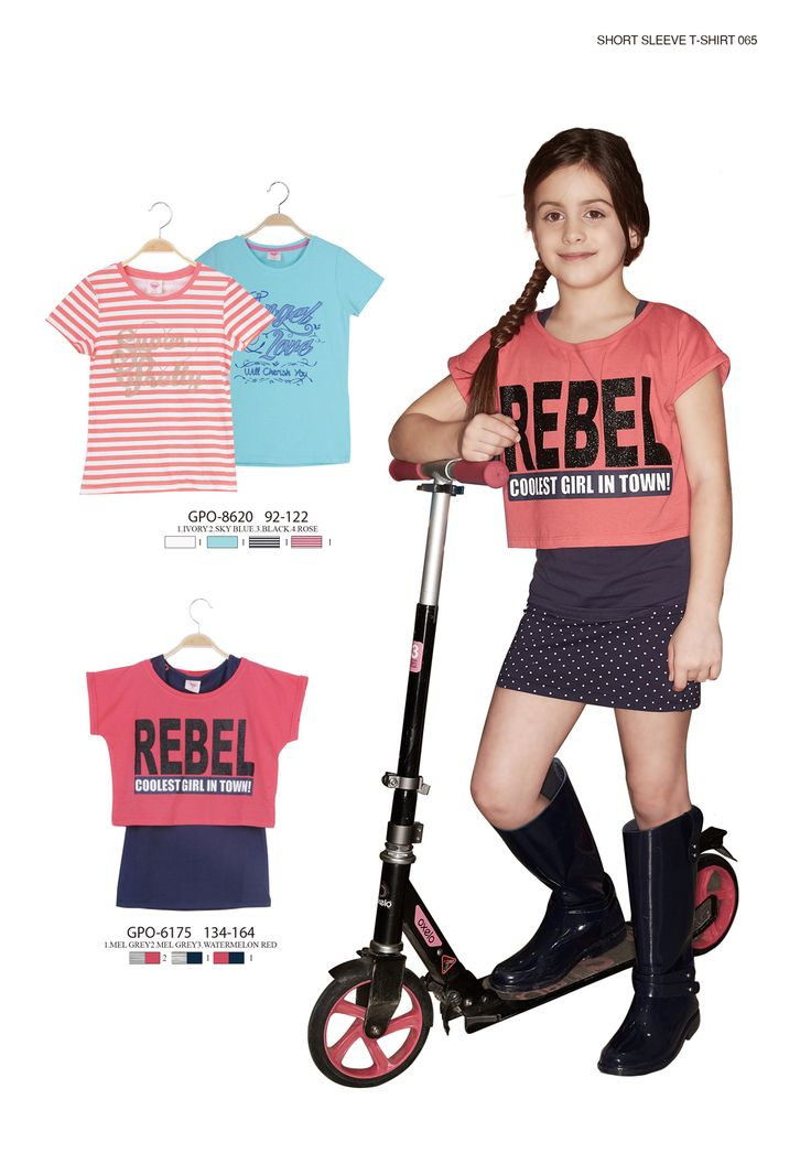 Rebel T-shirt  #glostory #fashion #forgirls #ss15 #cute #clothing #fashion #dress #tshirt #shirt #skirt