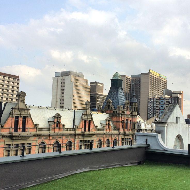 Durban's inner city...