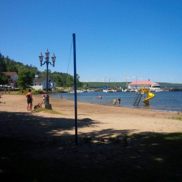 A quaint beach on Manitoulin Island, Ontario, Canada.