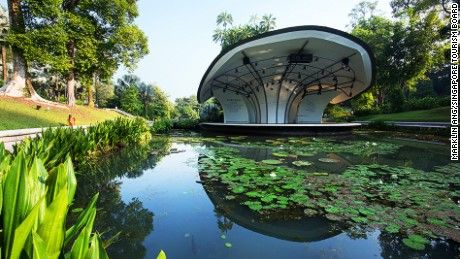 Singapore Botanic Garden: UNESCO's only tropical garden - CNN.com