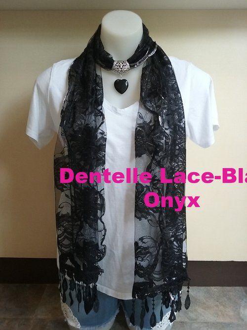 Dentelle Lace - Onyx Gem