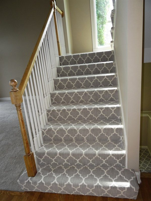 Best Images Of Patterned Carpet On Stairs Google Search Stairs Pinterest Grey Carpet On 640 x 480