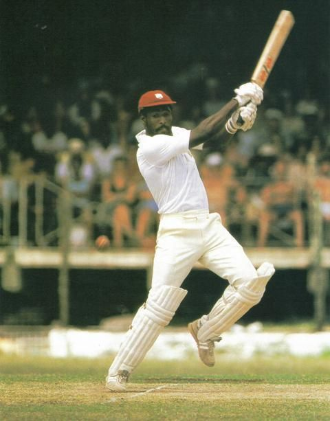 """Viv Richards, """"Richards had an aura given to no other. Truly he was scary""""."""