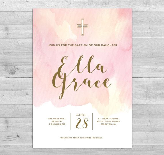 Best 25+ Baptism invitations ideas on Pinterest | Baptism ...