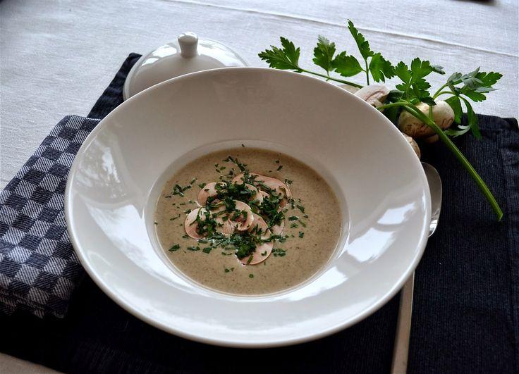 mmm recept: Krämig Champinjonsoppa