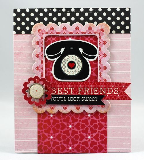 Best Friends Card From Love Story Collection