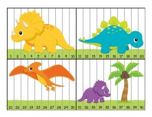 dinosaur numbers puzzle