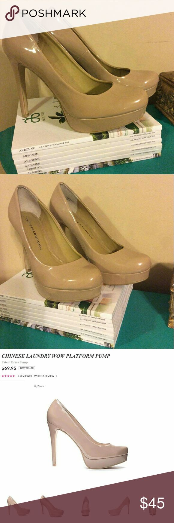 Chinese Laundry platform Chinese laundry platform in great condition.  Barely used. Chinese Laundry Shoes Platforms