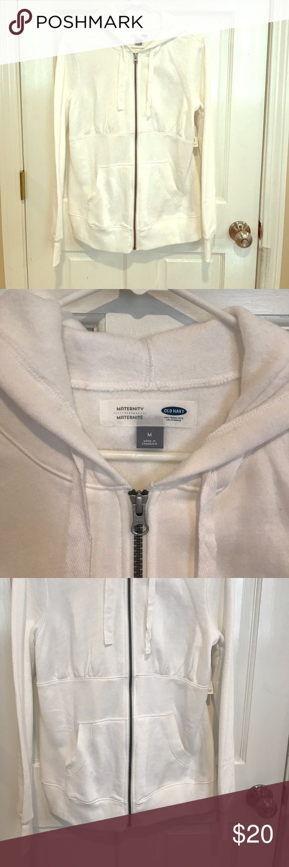 NWT Maternity Sweatshirt Brand new maternity zip up sweatshirt Old Navy Tops Sweatshirts & Hoodies