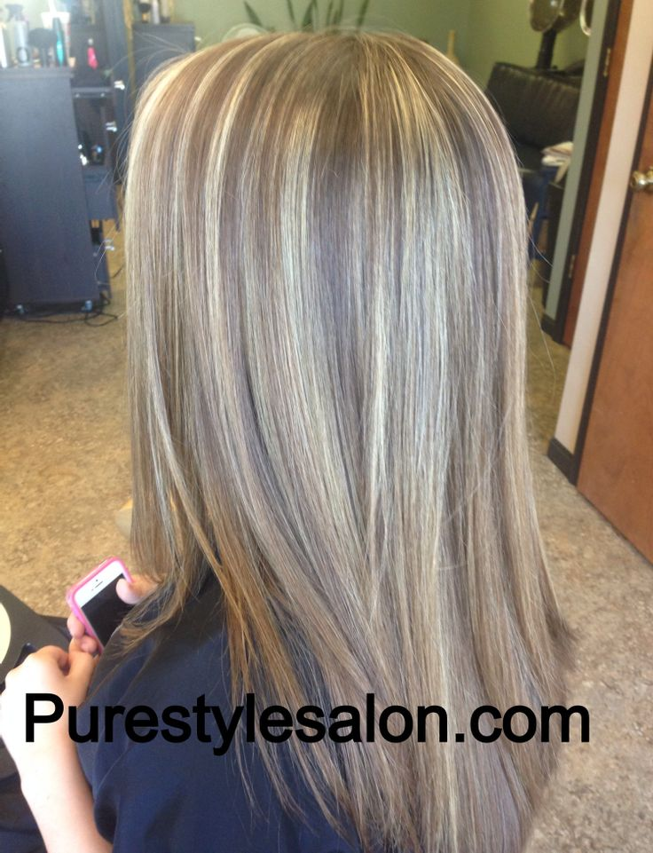 Soft brown with highlights