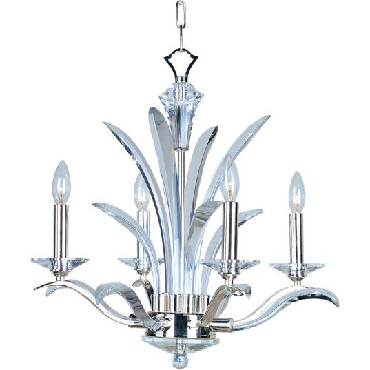 In an exclusive design, bent, Beveled Crystal pairs with a highly Plated Silver finish in a fountain of eye-catching splendor. Our proprietary crystal mounting system and hand-cut bobeches, fonts and canopy covers make the Paradise Collection one of a kind. U.S. PAT. NO. D602,190 S