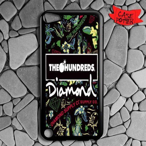 The Hundreds Diamond Supply Co iPod 5 Black Case