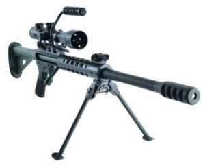 This single-shot rifle in .50 BMG can give you firepower - and it won't cost an arm and a leg. This rifle comes with a Steel Stock (a Mono Stock is an option). Specifications Receiver: Machined fro...