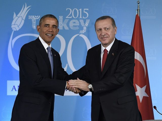 Obama: We 'Stand Shoulder to Shoulder' with Turkey and Europe to Help the Syrian Refugees - Forward... with Obama's planned destruction of America.