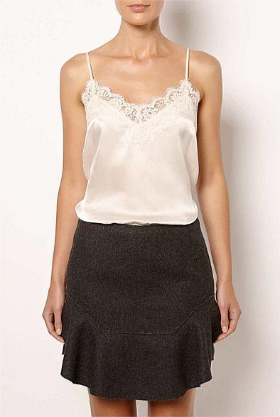 Witchery Lace Cami & Pelmut Skirt