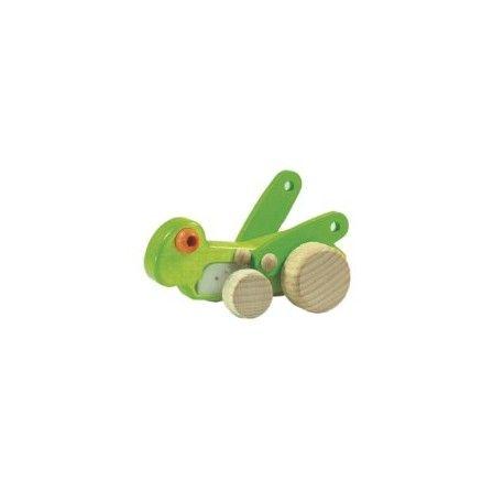 Witajcie, Mamy pierwszą cykadę w Ofercie:)  Zabawka Bajo 26010 - Drewniana Cykada Cicada Bar dla Dzieci już od 1,5 roku.  13cm zabawka wprawiona w ruch porusza skrzydełkami.  Czy wydaje dźwięki cykady? Sprawdźcie sami:)  http://www.niczchin.pl/drewniane-zwierzatka/2525-bajo-26010-cykada-cicada-bar.html  #bajo #cykada #cicadabar #zabawki #niczchin #krakow