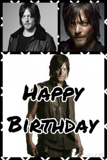 Happy birthday Norman Reedus!!